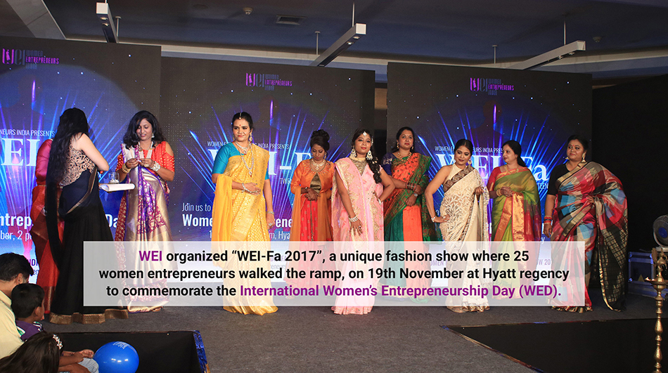 Women Entrepreneurs Fashion Show